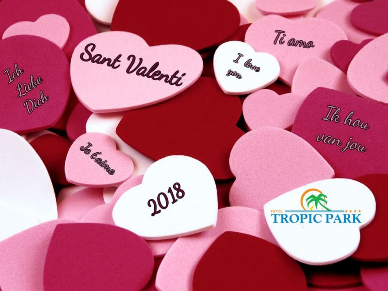 Valentines Day Offer Angebot Hotel Tropic Park Malgrat De Mar